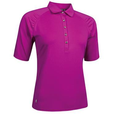 Glenmuir Ladies Imogen Polo Shirt Fuchsia