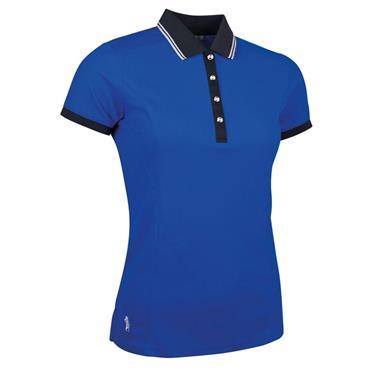 Glenmuir Ladies Harlow Performance Pique Polo Shirt Ascot Blue