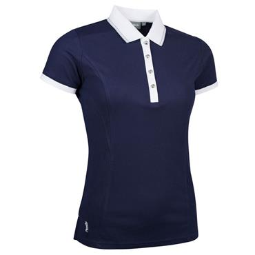Glenmuir Ladies Harlow Performance Pique Polo Shirt Navy