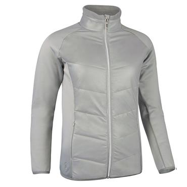 Glenmuir Ladies Madison Padded Jacket Stardust - Silver
