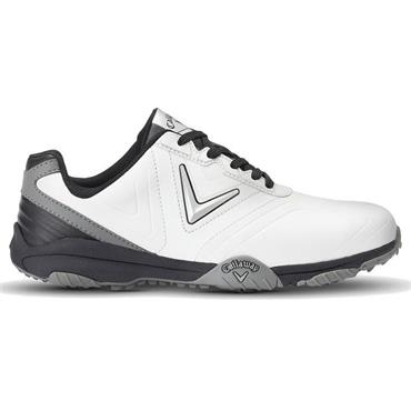 Callaway Gents Chev Comfort Golf Shoes White - Black