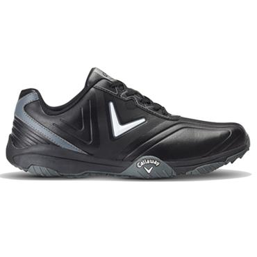 Callaway Gents Chev Comfort Golf Shoes Black - Silver