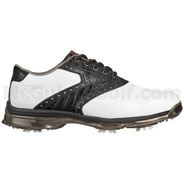 Callaway Gents X-Nitro PT Waterproof Golf Shoes White - Black