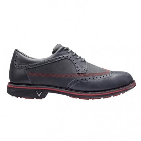 b7d3fab3b16b Callaway Delmar Brogue Gents Golf Shoes Grey - Crimson