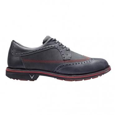 Callaway Gents Delmar Brogue Gents Golf Shoes Grey - Crimson