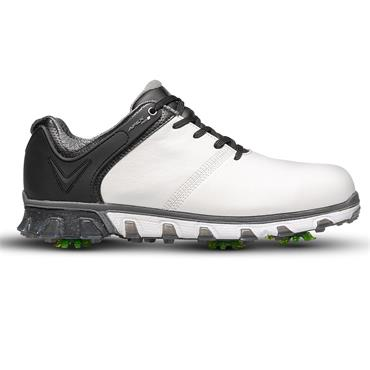 Callaway Gents Apex Pro S Golf Shoes White - Black