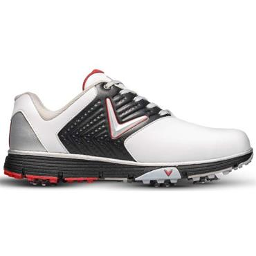 Callaway Gents Chev Mulligan S Golf Shoes White - Black - Red