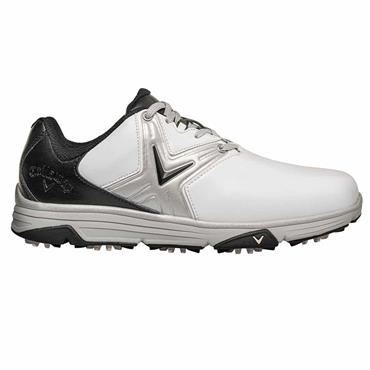 Callaway Gents Chev Comfort Shoes White - Black