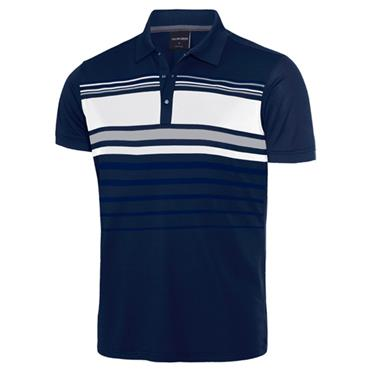 Galvin Green Gents Mayer Polo Shirt Navy - Steel