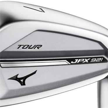 "Mizuno JPX921 Tour 7 steel Irons 4-PW Plus 1/2"" Gents RH"