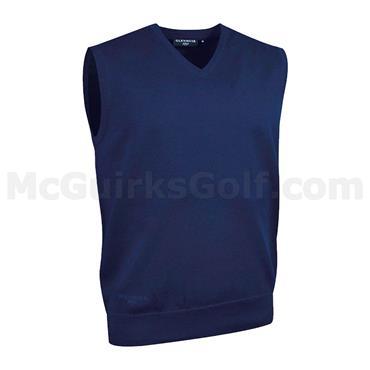 Glenmuir Gents Thornton Cotton Golf Slipover Navy