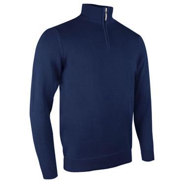 Glenmuir Gents Devon 1/4 Zip Sweater Navy