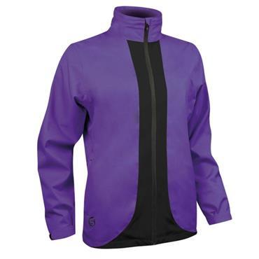Sunderland Ladies Montana Waterproof  Jacket Purple - Black