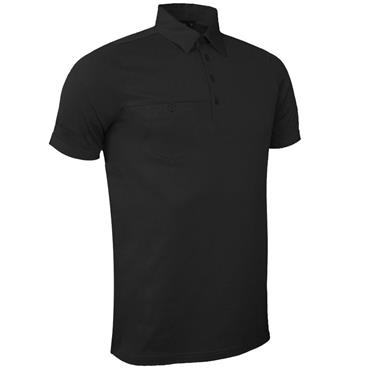 Glenmuir Gents Lowther Polo Shirt Black