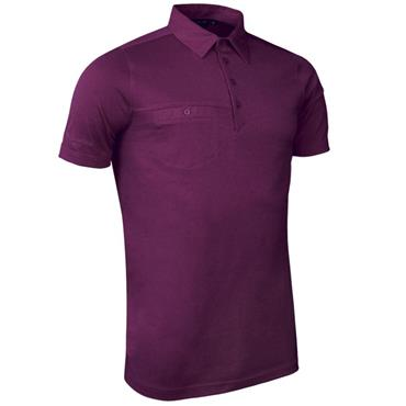 Glenmuir Gents Lowther Polo Shirt Bordeaux