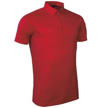 Glenmuir Gents Lowther Polo Shirt Garnet