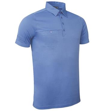 Glenmuir Gents Lowther Polo Shirt Light Blue