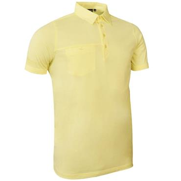 Glenmuir Gents Lowther Polo Shirt Light Yellow