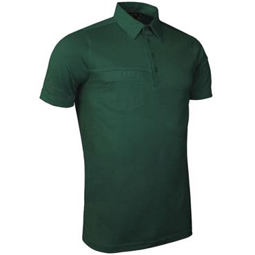 Glenmuir Gents Lowther Polo Shirt Tartan Green