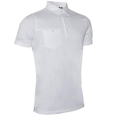 Glenmuir Gents Lowther Polo Shirt White