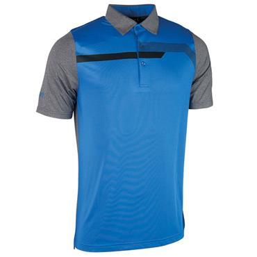 Glenmuir Gents Hatfield Micro Polo Shirt Black - Tahiti