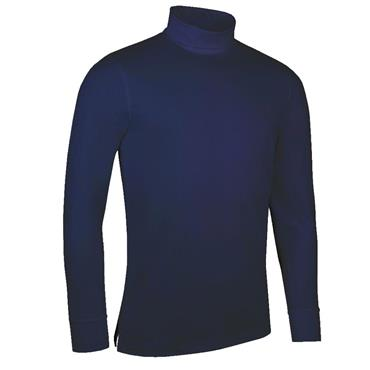 Glenmuir Gents Fraser Roll Neck Golf Shirt Navy