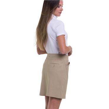 EPNY Ladies Compression Pull On Skort Khaki