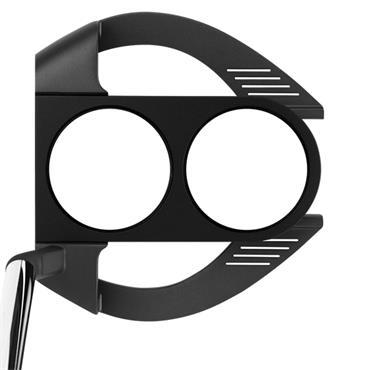 Odyssey O-Works 2-Ball Fang S Black Putter Super Stroke 2.0 Grip Gents RH