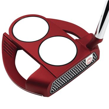 Odyssey O-Works 2-Ball Fang S Red Putter Super Stroke 2.0 Grip Gents RH