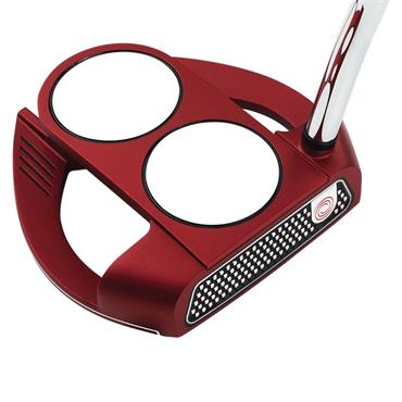 Odyssey O-Works 2-Ball Fang Red Putter Super Stroke 2.0 Grip Gents RH