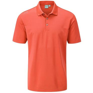 Ping Gents Lincoln Polo Shirt Ember
