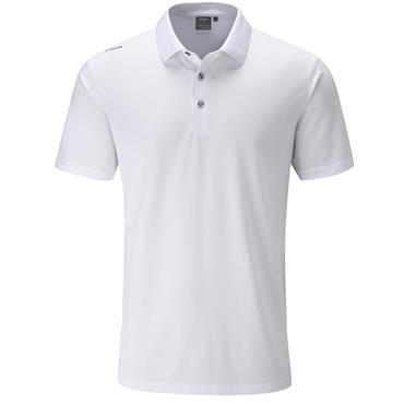 Ping Gents Lincoln Polo Shirt White