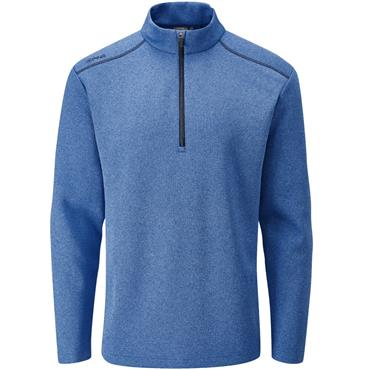 Ping Gents Ramsey 1/2 Zip Top Blue Marl