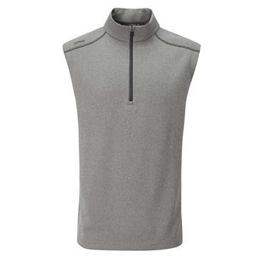 Ping Gents Ramsey ½ Zip Fleece Vest Ash Marl