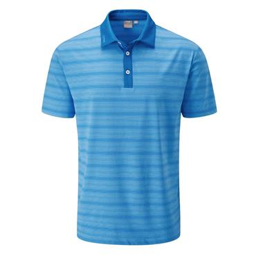 Ping Gents Eugene Polo Shirt Snorkel Blue