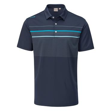 Ping Gents Spencer Polo Shirt Oxford Blue