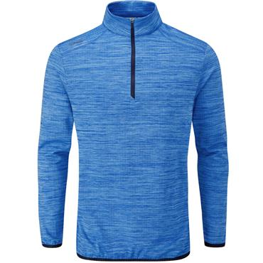 Ping Gents Edison 1/2 Zip Top Brilliant Blue Marl
