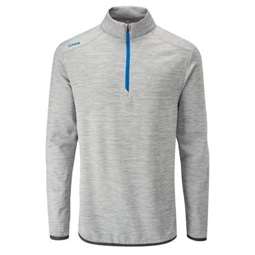 Ping Gents Edison 1/2 Zip Top Silver Marl