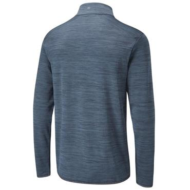 Ping Gents Edison ½ Zip Top Oxford Blue Marl