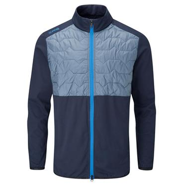 Ping Gents Norse S2 Zoned Jacket Oxford Blue - Greystone