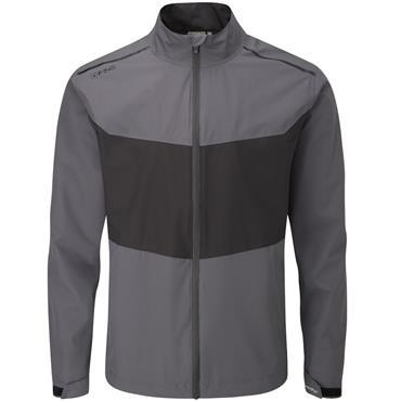 Ping Gents Downton Waterproof Jacket Asphalt - Black