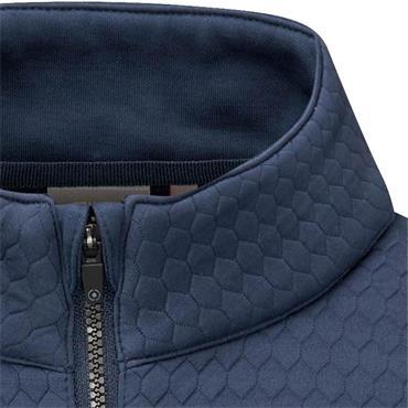 Ping Gent Mellor ½ Zip Top Oxford Blue
