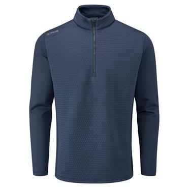 Ping Gent Mellor 1/2 Zip Top Oxford Blue