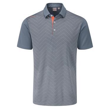 Ping Gents Etten Polo Shirt Greystone Multi