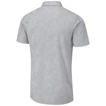 Ping Gents Romy Polo Shirt Silver