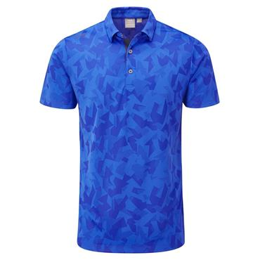 Ping Gents Romy Polo Shirt Snorkel Blue