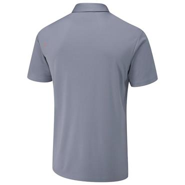 Ping Gents Holten Polo Shirt Greystone