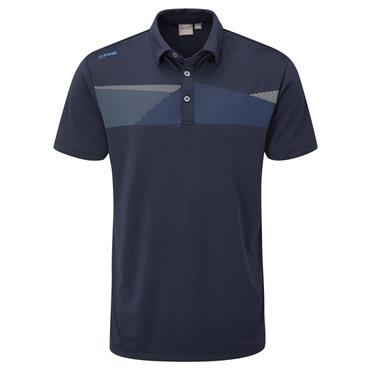 Ping Gents Holten Polo Shirt Navy