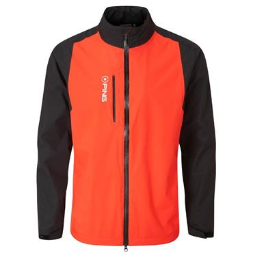 Ping Gents SensorDry Pro Waterproof Jacket Fiesta Black