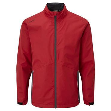 Ping Gents SensorDry Waterproof Jacket Firebrick Asphalt